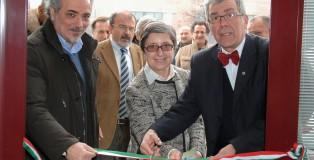 Da sinistra. Maino Benatti, Mariella Martini, Nunzio Borelli