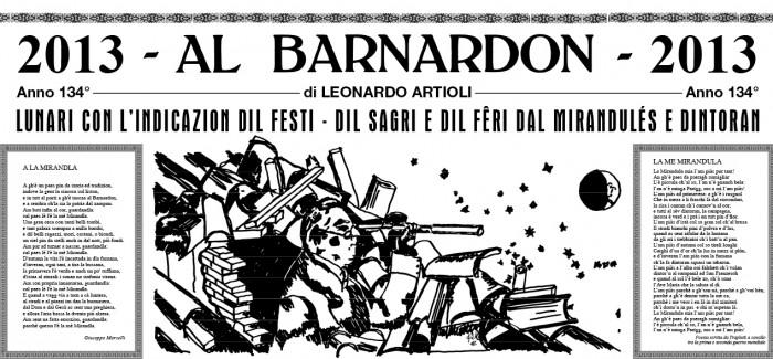 AL BARNARDON RACCONTA MIRANDOLA DA 130 ANNI