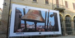 L'immagine sul retro del Municipio