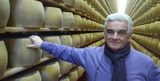 Luciano Dotti, presidente del caseificio La Cappelletta