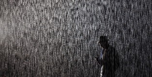 Image: The Rain Room Is Unveiled At The Curve Inside The Barbican Centre
