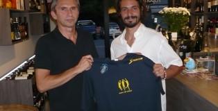 Serafini con il Presidente Silvestri