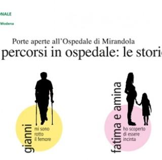 PORTE APERTE ALL'OSPEDALE DI MIRANDOLA