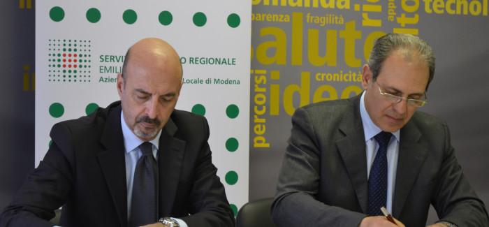 ACCORDO AUSL-DEMOCENTER PER IL BIOMEDICALE
