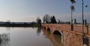ponte motta piena del 19 marzo 2018