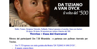 2018 10 13 Avis Mirandola da Tiziano a Van Dick