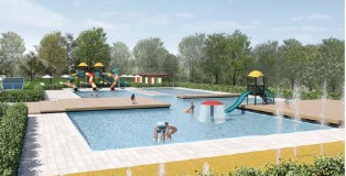 Rendering Centro nuoto Mirandola1