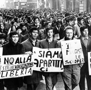 IL 1968 TRA PAROLE, IMMAGINI E MUSICHE