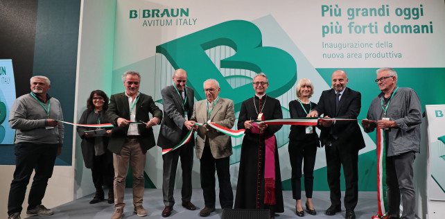 [video] MIRANDOLA: B.BRAUN CONTINUA A CRESCERE