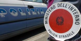 polizia stradale paletta