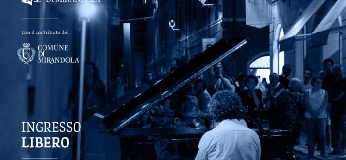 UNA SERATA DI MUSICA E SPETTACOLI NEL CENTRO STORICO DI MIRANDOLA