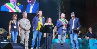 Il Sindaco di Mirandola Alberto Greco ed i rappresentanti dell'Amministrazione e del Consiglio comunale di Mirandola intervistati da Giacomo Borghi di Radio Pico