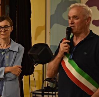 IL SINDACO ALBERTO GRECO E L'ASSESSORE ANTONELLA CANOSSA PRESENTI ALLA FESTA DEL CISA