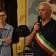 L'Assessore alla Salute del Comune di Mirandola Antonella Canossa ed il Sindaco Alberto Greco alla festa del Cisa