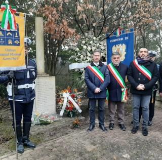 Commemorazione vittime incidente ferroviario in località Bolognina di Crevalcore