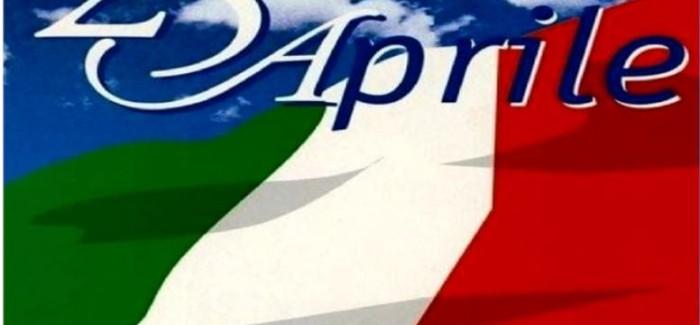 MIRANDOLA: CELEBRAZIONI 25 APRILE, 75ESIMO DELLA LIBERAZIONE