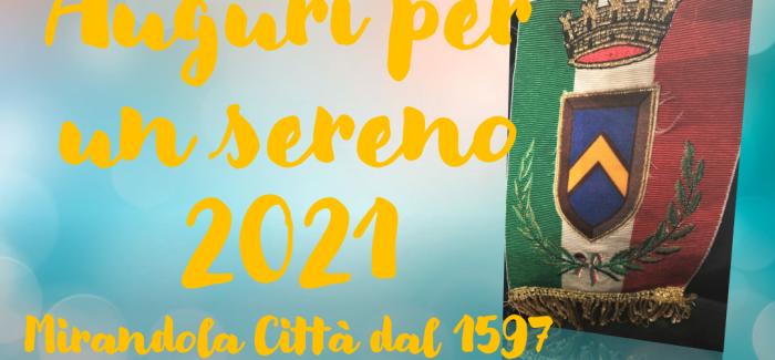 Un sincero augurio per un 2021 sereno