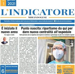 MIRANDOLA L'INDICATORE MIRANDOLAESE NUMERO 1/2021