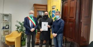 Mirandola_Sindaco_Greco_Appuntato_Spagnuolo_Assessore_Forte